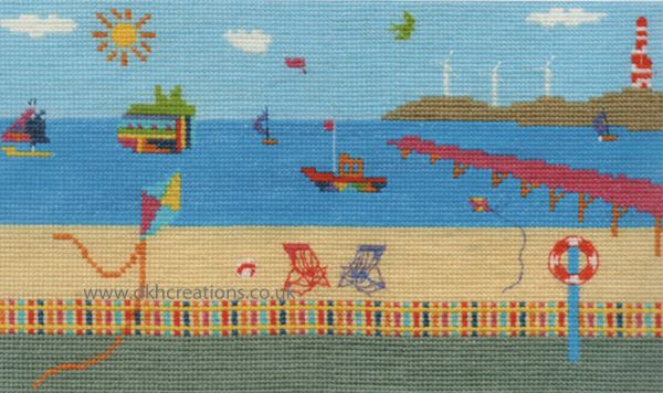 Sea View Cross Stitch Kit